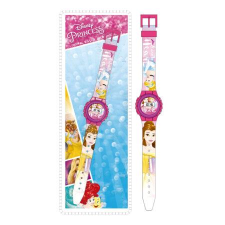 Disney Princess Ψηφιακό Ρολόι Χειρός