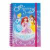 Disney Princesses Τετράδιο Σπιράλ Με Λάστιχο, 60 φύλλων Α5