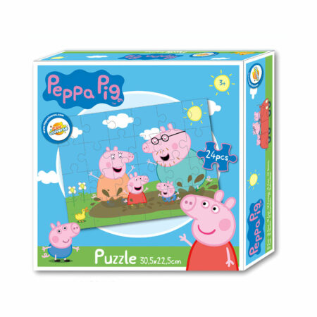 Peppa Pig Παιδικό Πάζλ 24τμχ.