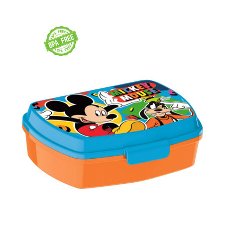 Disney Mickey Mouse Παιδικό Δοχείο Φαγητού