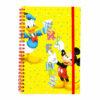 Disney Mickey Mouse Τετράδιο Σπιράλ Με Λάστιχο, 60 φύλλων Α5