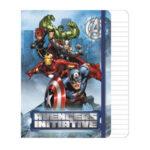 Marvel Avengers Σημειωματάριο Με Λάστιχο, 80 φύλλων Α5