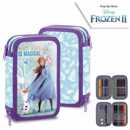 Disney Frozen Κασετίνα 2 Επιπέδων Γεμάτη