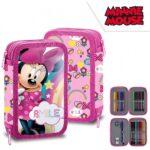 Disney Minnie MOuse Κασετίνα 2 Επιπέδων Γεμάτη
