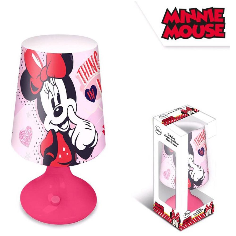 Disney Minnie Mouse LED Μίνι Πορτατίφ-Φωτιστικό Κομοδίνου