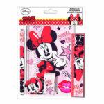 Disney Minnie Mouse Σετ Γραφικής Ύλης 5τμχ.
