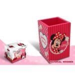 Disney Minnie Mouse Ξύλινη Μολυβοθήκη