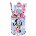Disney Minnie Mouse Μολυβοθήκη Σετ 7τμχ.