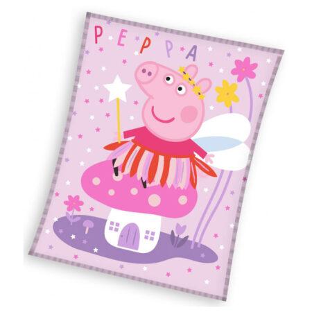 Peppa Pig Fleece Βελουτέ Κουβέρτα 150 x 200εκ.