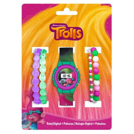 Trolls Παιδικό Ψηφιακό Ρολόι Χειρός