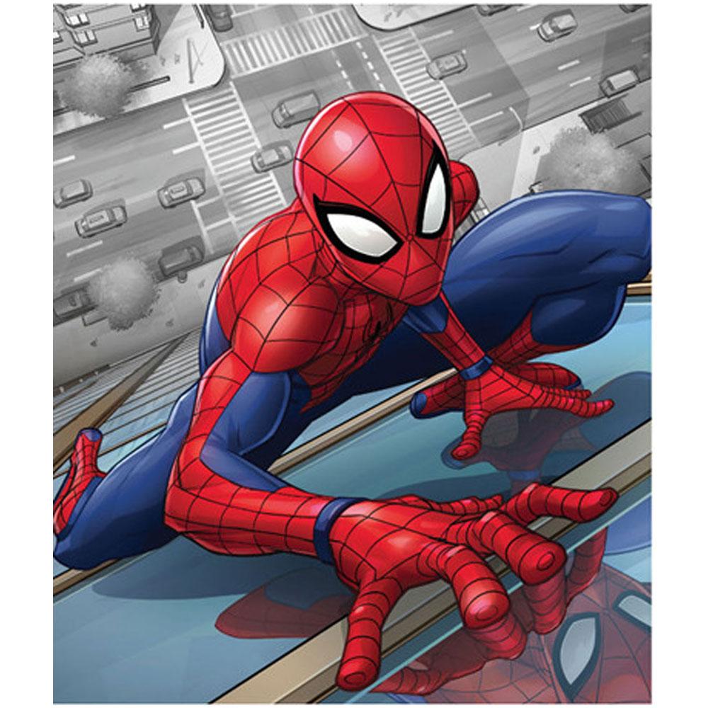 Marvel Spider-Man Fleece Βελουτέ Κουβέρτα 120 x 140 εκ.