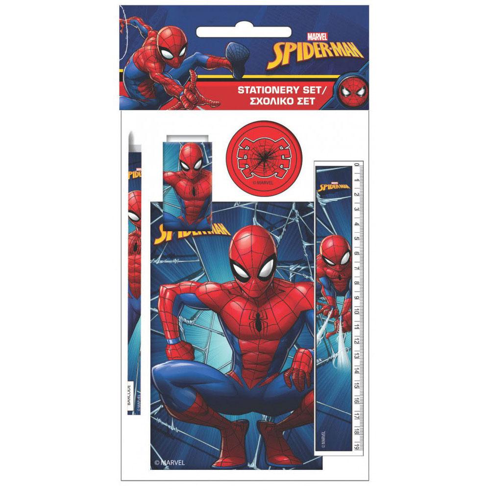 Marvel Spider-Man Παιδικό Σετ Γραφείου