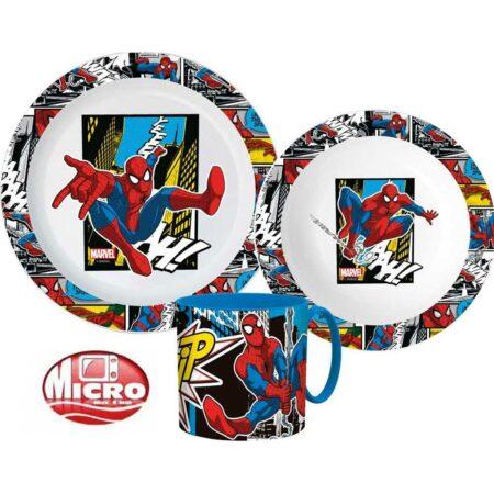 Marvel Spider-Man Παιδικό Σετ Φαγητού